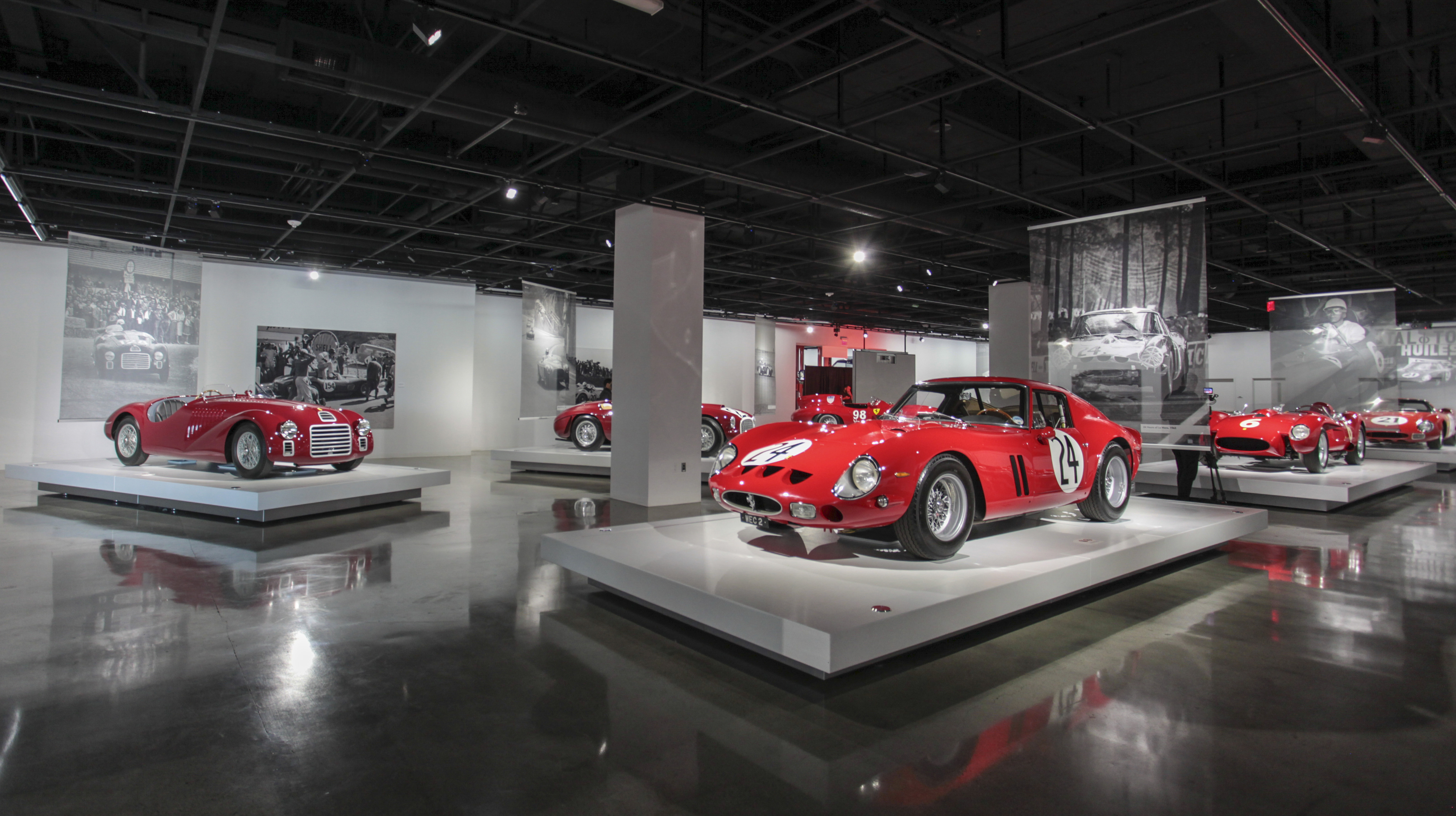WORLD\'S RAREST AND FINEST FERRARIS NOW ON DISPLAY AT THE PETERSEN ...