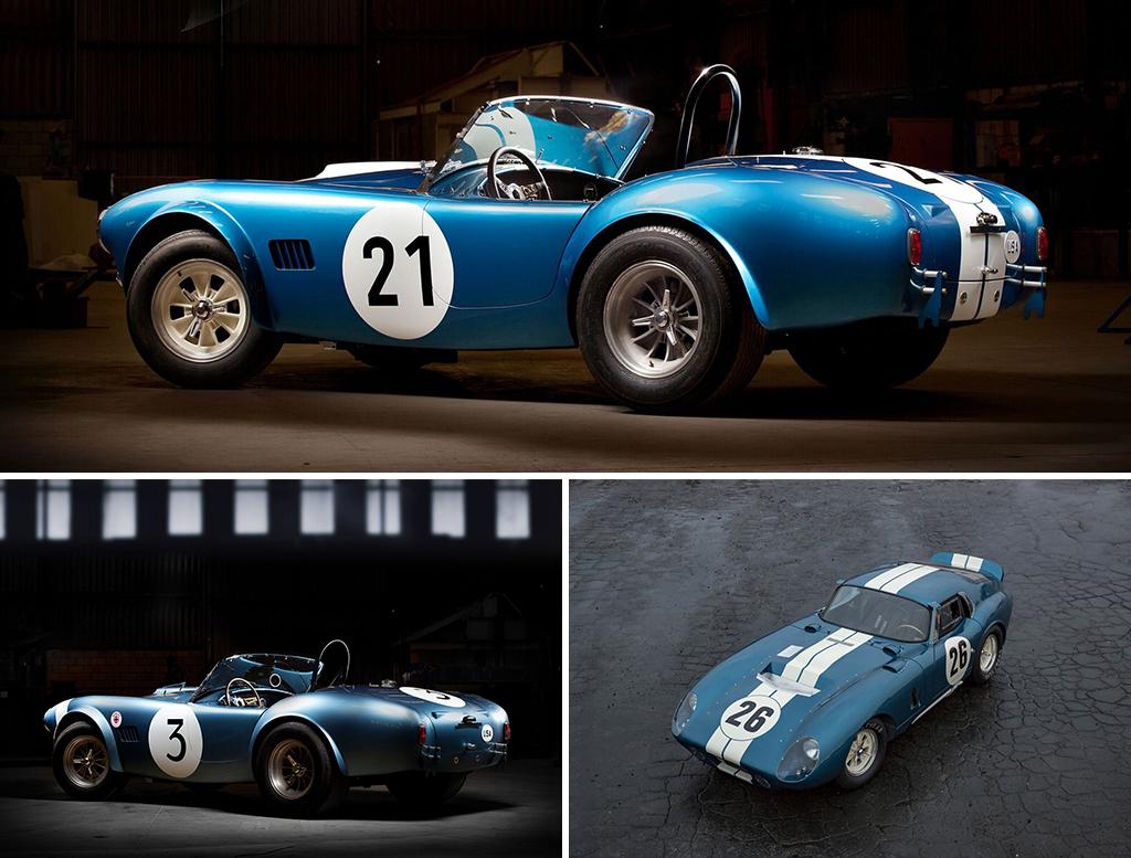 Competition Cobra Daytona Coupe Race