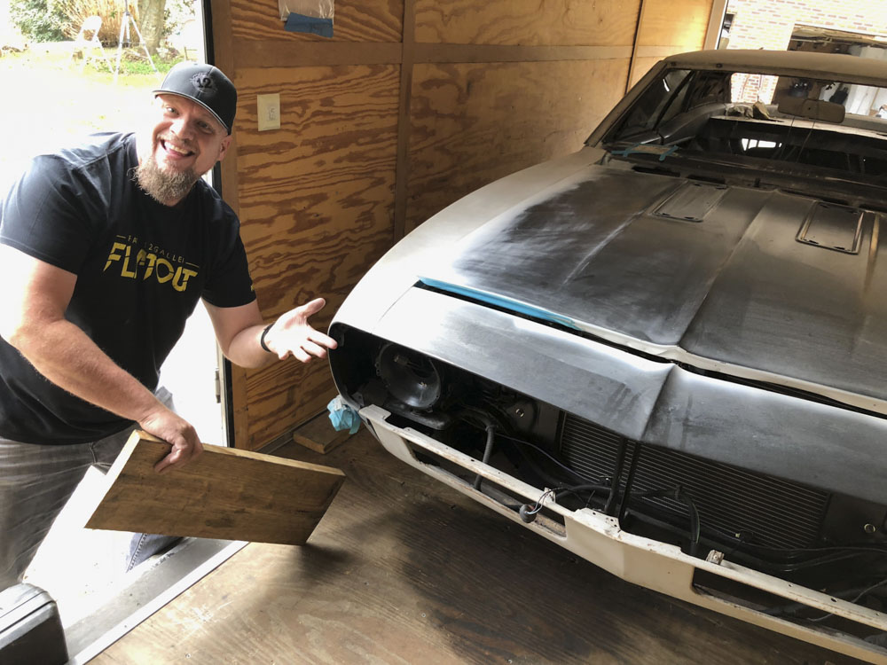 SKIDMARKS SHOW HOST JEFF ALLEN TO RESTORE AND CUSTOMIZE CAMARO - Restore a muscle car car show