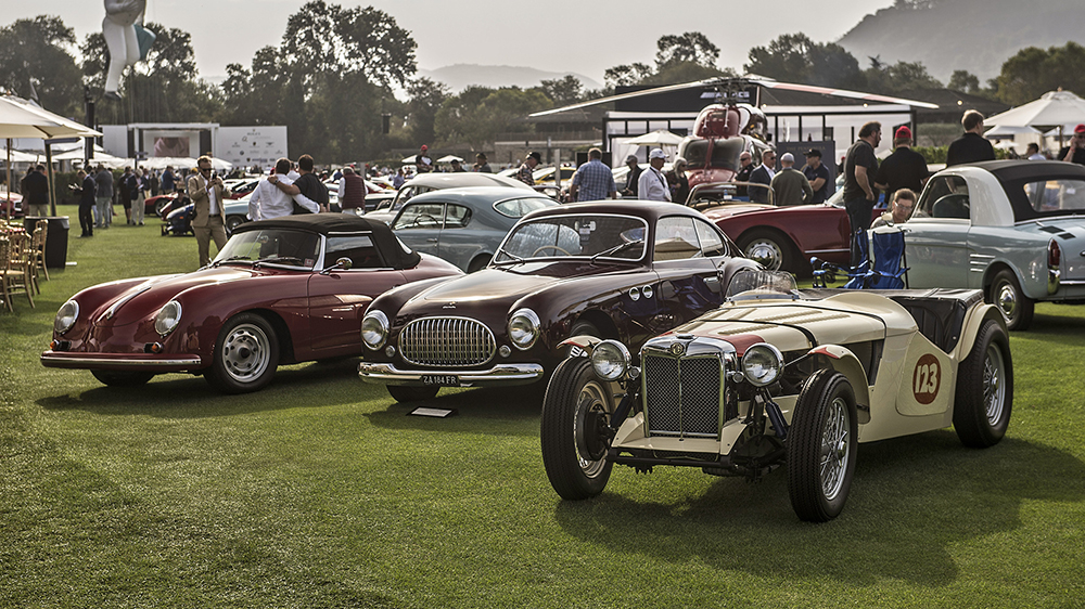 TWO HUNDRED COLLECTOR CARS TO ADORN THE LAWNS OF QUAIL LODGE & GOLF ...