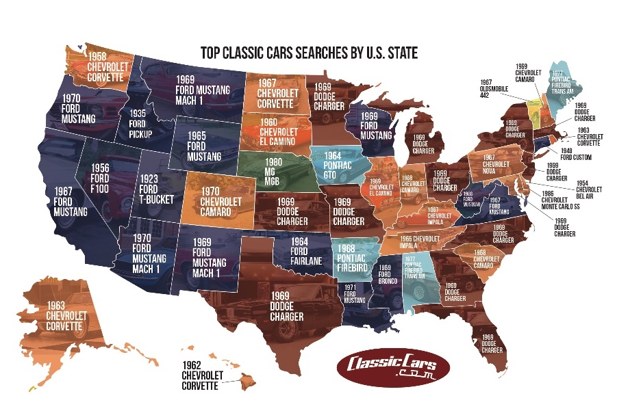 551d991ba4 CLASSICCARS.COM REPORTS  DODGE CHARGER IS AMERICA S MOST FREQUENTLY ...